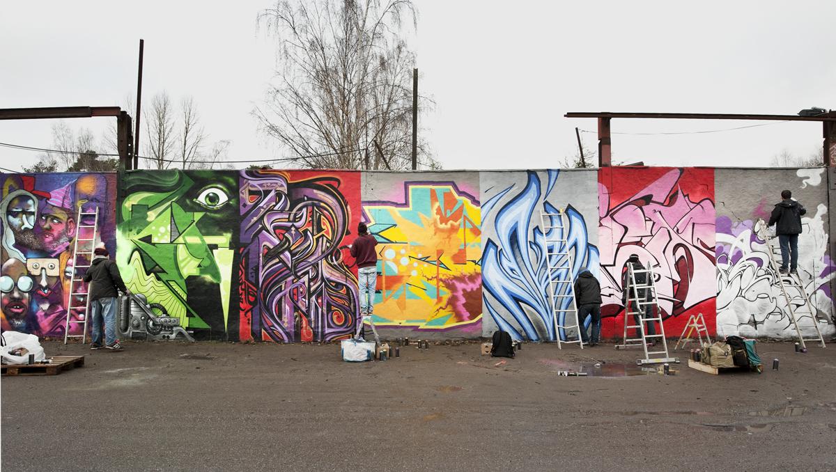 Summer Academy: Graffiti för vuxna