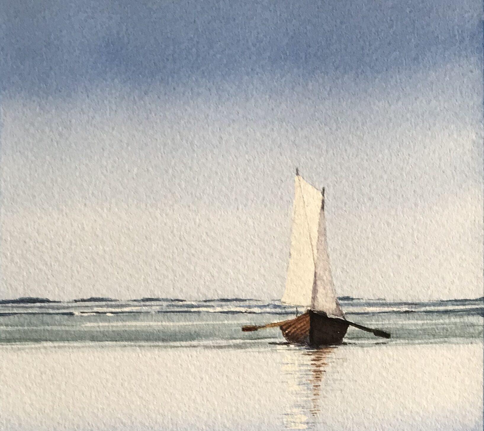 Maria Ericsson: Utblick i akvarell