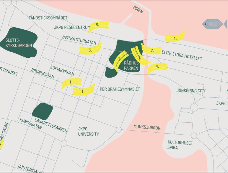 Mitt Queera Jönköping - Hbtqia+ stadsvandring av Sam Hultin