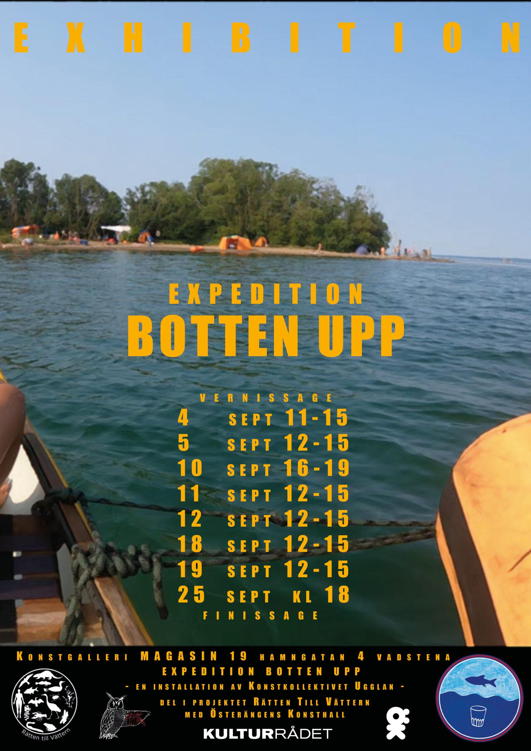 Expedition BOTTEN UPP  Dag 59 - Exhibition BOTTEN UPP