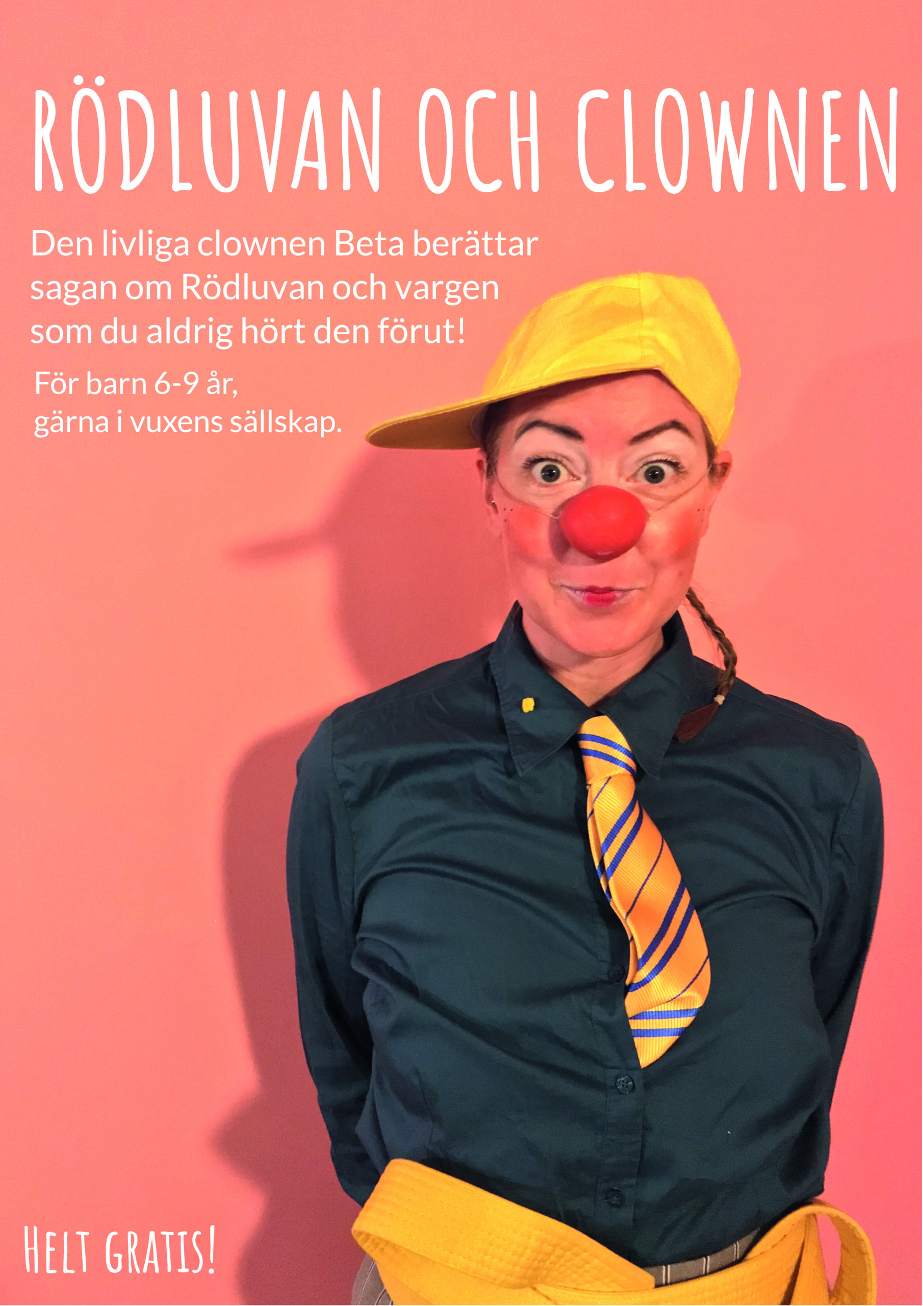 Barnteaterföreställning: Rödluvan och clownen