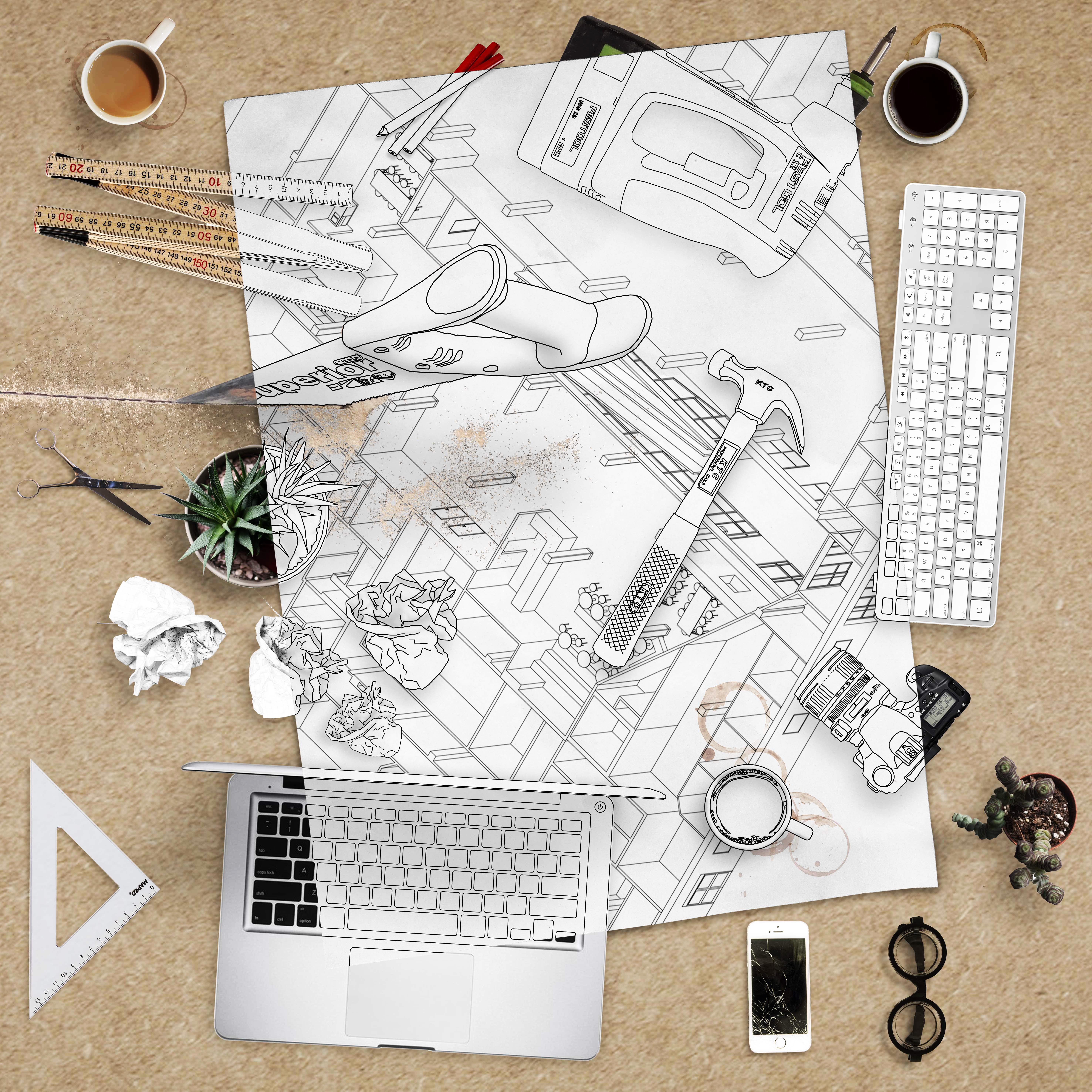 Arkitekturlabb - utställningen som process